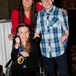 Easter Seals Ambassadors with Natalie Spooner